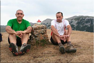 Milpiribil (Pinpil) mendiaren gailurra 1.279 m.  --  2009ko abuztuaren 16an