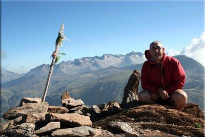 Tuca Gallinero mendiaren gailurra 2.732 m.  --  2009ko abuztuaren 27an