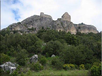 Castillo de Portilla desde el Valle de Reajo