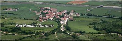 San Román / Durruma visto desde el Portillo de Atau