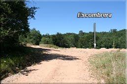 Escombrera a la derecha del camino