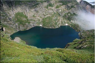 El Lac d'Isabe va quedando abajo