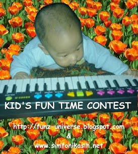 Kid's fun time contest