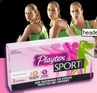 Amostra Gratis Absorvente interno Playtex Sport