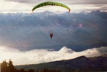Paraglide Idaho Peak