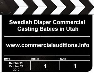 Baby Diaper Commerial Auditions