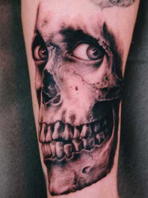 can create a chilling, haunting effect. But be warned - your tattoo is