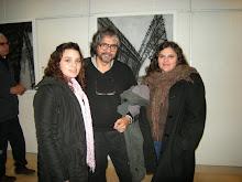 Julia Sassano, Cecilia y Enrique.