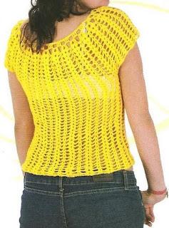 Material: 200 gr de estambre color amarillo