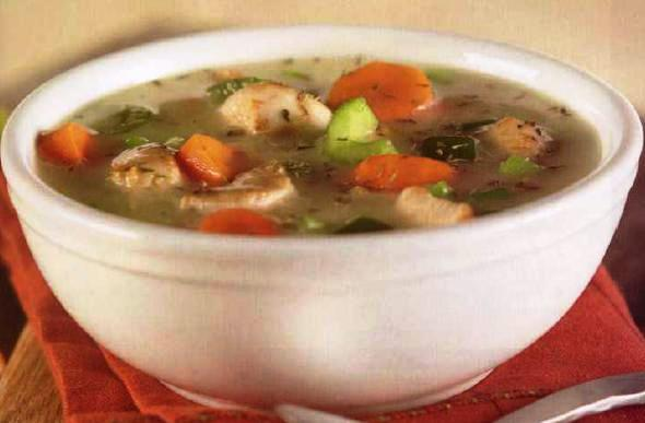 chunky chicken and vegetable soup 1 tablespoon vegetable oil 1 ...