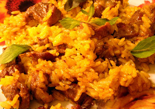 Rice with Lamb