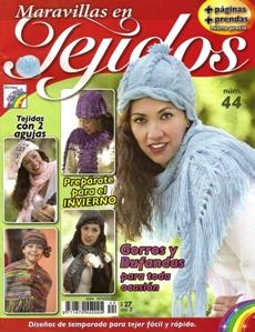 Revista Maravillas en Tejidos №44