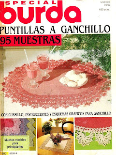 Revista Burda E 983 Especial Puntillas a Ganchillo
