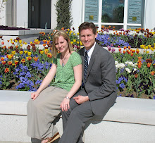 Beautiful Timpanogos Temple Flowers