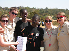 Coaching Highland in Malawi
