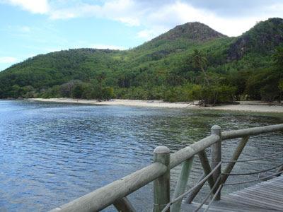 Otra playa de la isla del hotel
