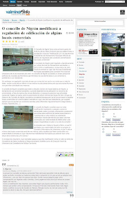 O concello de Nigrán modificará a regulación de edificación de algúns locais comerciais