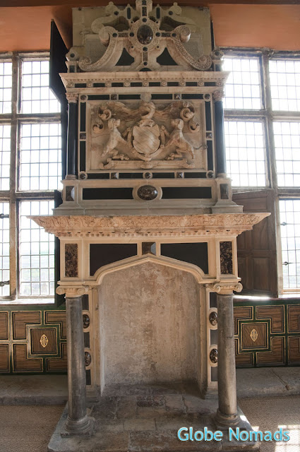 Travel, Attractions, United Kingdom, Bolsover Castle, Star Chamber, fireplace