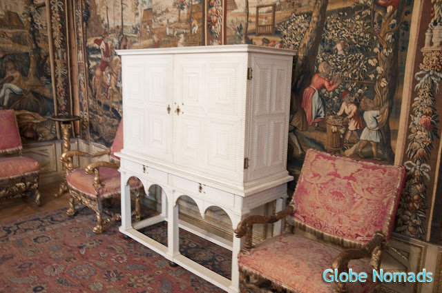 Travel, Attraction review, United Kingdom, Ham House ivory cabinet