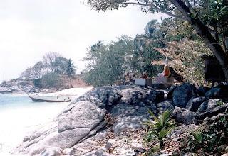Koh Kaew, Buddha Island, Phuket 1987