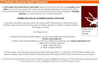 II Premio Xatafi-Cyberdark