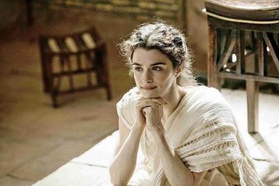 Rachel Weisz es Hipatia en Ágora, el filme de Alejandro Amenábar