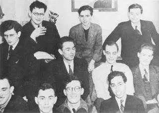 Algunos de los Futurianos en 1938