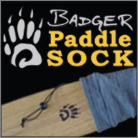 Badger Paddle Socks... for those who dig their gear.