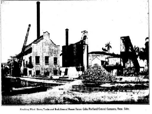 My Notes On Naga Cebu History The Cebu Portland Cement Company