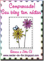 Selo Seu Blog Tem Néctar