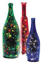 pisca pisca em garrafas