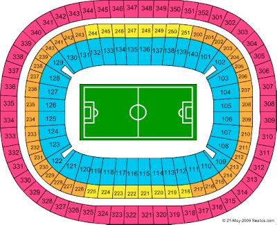 Dome seating chart atlanta falcons seating chart at for Mercedes benz dome seating chart