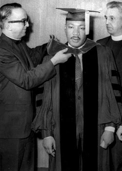 Morehouse College, King'-s alma mater, lives out his legacy