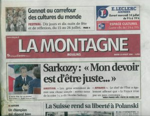 Malone 03 allier bourbonnais le journal la montagne et ses peti - Le journal la montagne ...