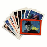 Topps Fright Flicks Trading Cards
