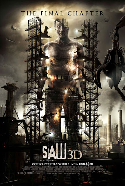 New SAW 3D Poster, Same Old Marketing Ploy!
