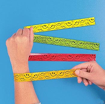 Slap Bracelets..You Could Slap Them On And ..Um..Stuff?