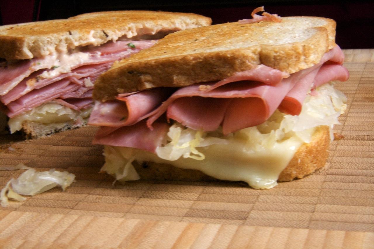 The Reuben Sandwich   Feast of Joy