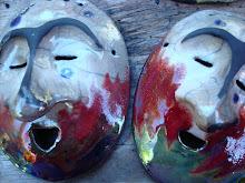 Zeke's raku masks