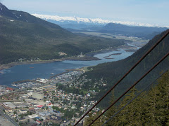 Overlooking Downtown Juneau