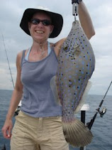 Conny with a Filefish