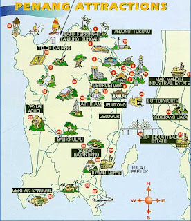 Pearl City Penang Map