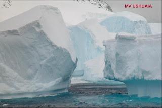 Klik op de ijsberg voor meer Antarctica