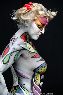 Women Body Paint