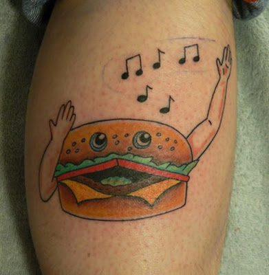 Tattoos for fast food fans