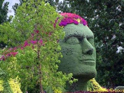10 esculturas de jardim muito criativas