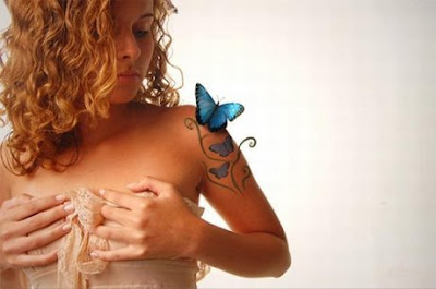 Beauty tattoos of photoshop