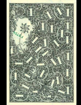Mark wagner's dollar collages