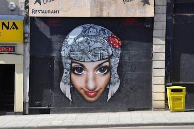 cool graffiti art gallery
