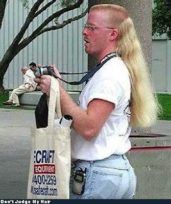 Weird hair styles